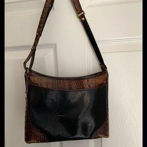 Vintage Brahmin shoulder / crossbody bag